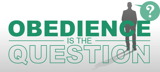 The Answer's Simple—Obedience Is the Question