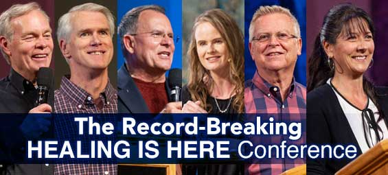 The Record Breaking Healing Is Here Conference