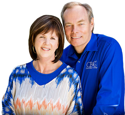 A picture of Andrew and Jamie Wommack