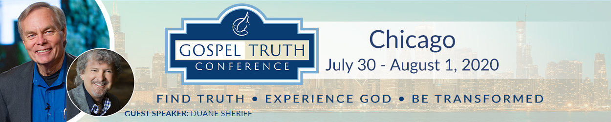 Chicago Gospel Truth Conference event banner