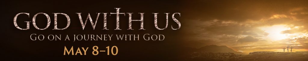 God With Us event banner