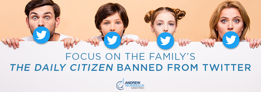Picture of people with Twitter logo over their mouths as though they are silenced